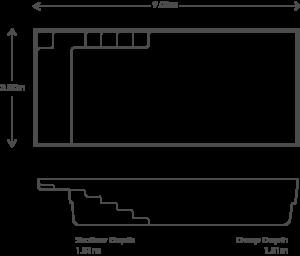 The Elite 9m Size chart
